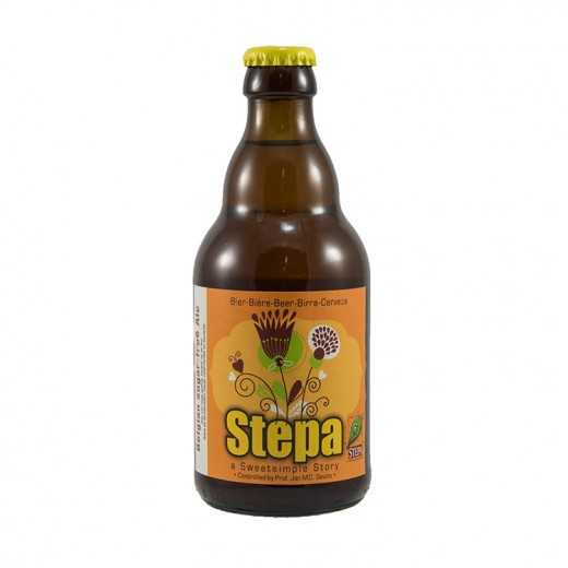 Stepa bier  Blond  33 cl   Fles