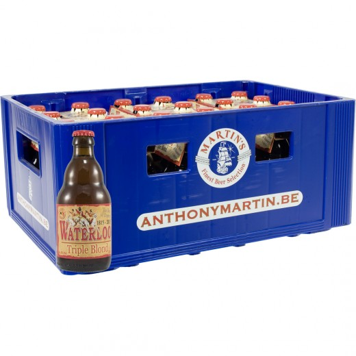 Waterloo  Tripel  33 cl  Bak 24 st