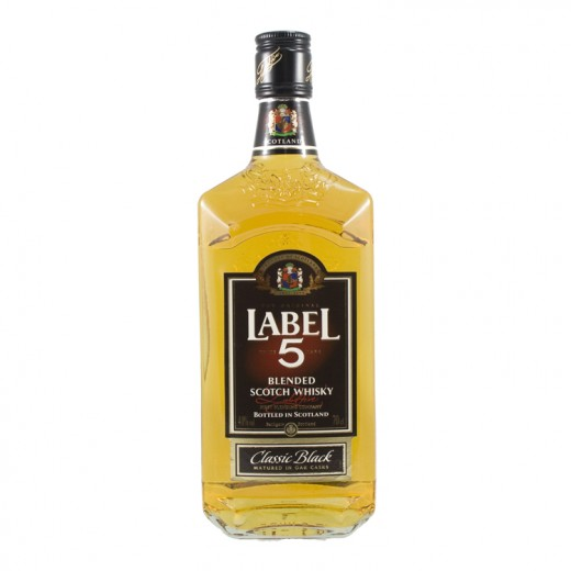 Label 5 40%  70 cl