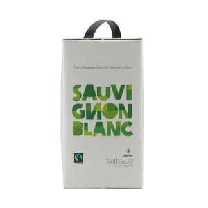 Sauvignon Blanc Fairtrade  Wit  3 liter  Vat