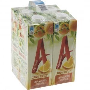 Appelsientje BRIK  Orange  1 liter  Pak  4 st