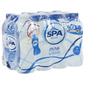 Spa PET  Plat  33 cl  Pak 12 st