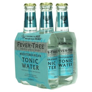 Fever Tree  Mediterranean Water  20 cl  Clip 4 fl