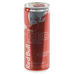 Red Bull edition  Red  25 cl  Blik