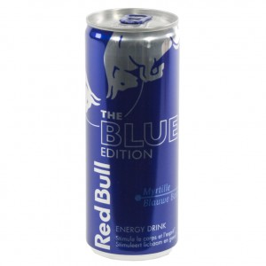 Red Bull edition  Blue  25 cl  Blik