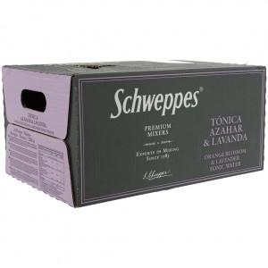 Schweppes Prem. Tonic  Orange Blossom Lavender  20 cl  Doos 24 st