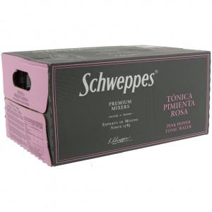 Schweppes Prem. Tonic  Pink Pepper  20 cl  Doos 24 st