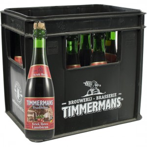 Timmermans Kriek Lambic Retro  37,5 cl  Bak 12 fl