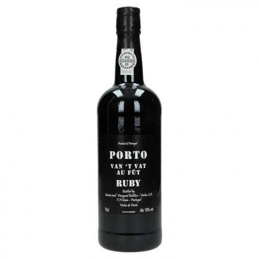 Porto van 't vat 19%  Rood  1,5 liter