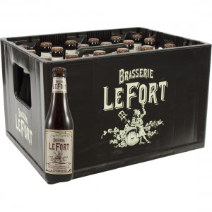 Brasserie Lefort  Donker  33 cl  Bak 24 st