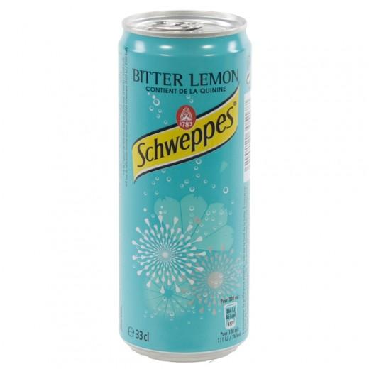Schweppes Bitter lemon BLIK  33 cl  Blik