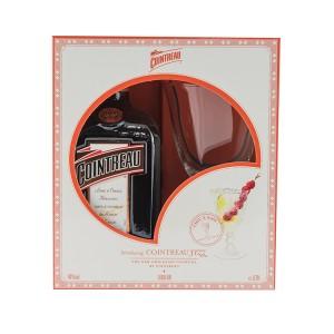 Cointreau geschenkverpakking + glas  70 cl