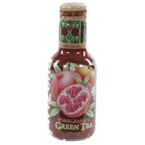 Arizona  Pomegranete Green tea  50 cl   Fles
