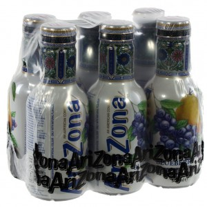 Arizona  Blueberry White tea  50 cl  Pak  6 st
