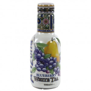 Arizona  Blueberry White tea  50 cl   Fles