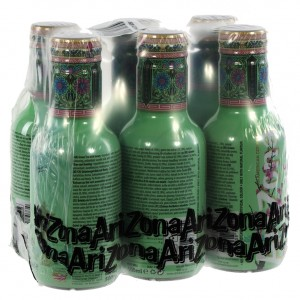 Arizona  Green tea  50 cl  Pak  6 st
