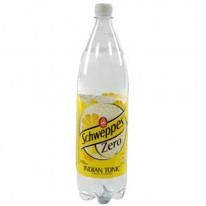 Schweppes Tonic PET  Zero  1,5 liter   Fles