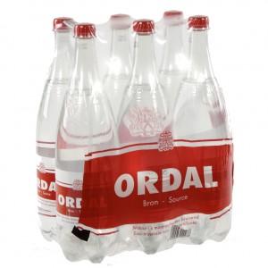Ordal Water PET  Bruis  1,25 liter  Pak  6 st