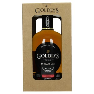 Goldlys Manzanilla Finish 14Y 43%  70 cl