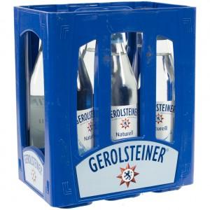 Gerolsteiner  Plat  1 liter  Bak  6 fl