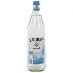 Gerolsteiner  Plat  1 liter   Fles