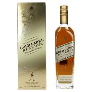 Johnnie Walker Gold Label res 40% in doos  70 cl