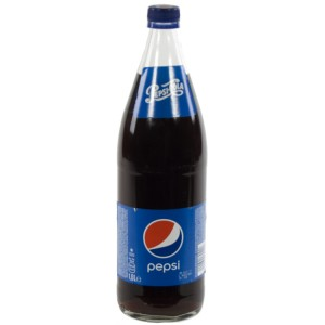Pepsi cola  Regular  1 liter   Fles