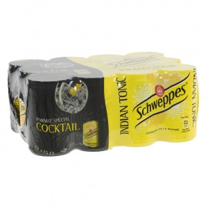 Schweppes Tonic BLIK  Regular  15 cl  Blik 12 pak