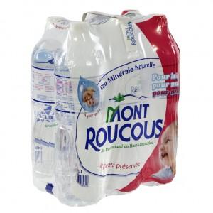 Mont Roucous PET  Plat  1,5 liter  Pak  6 st