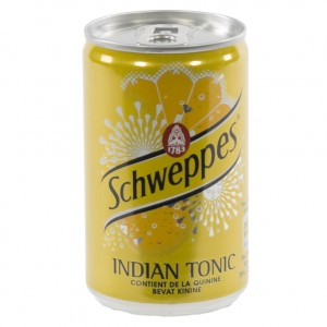 Schweppes Tonic BLIK  Regular  15 cl  Blik