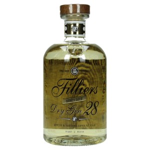 Filliers Barrel Aged dry gin 43.7%  50 cl