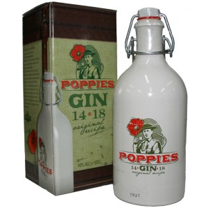 Poppies Gin 40°  50 cl