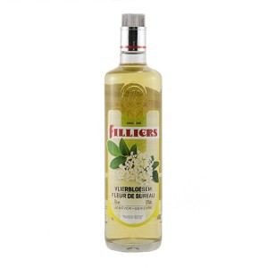 Filliers Fruit Jenever 20%  Vlierbloesem  70 cl