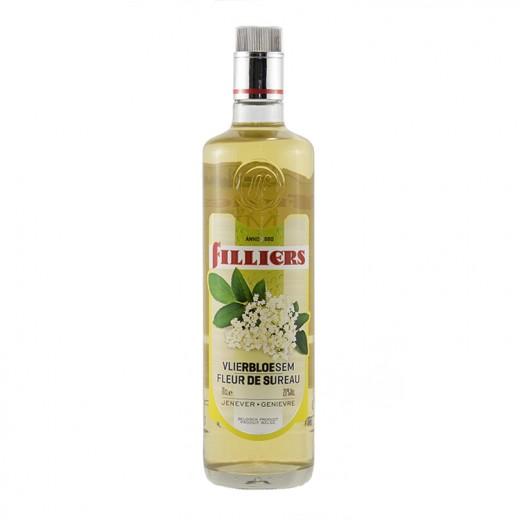 Filliers Fruit Jenever 20%  Vlierbloesem  70 cl