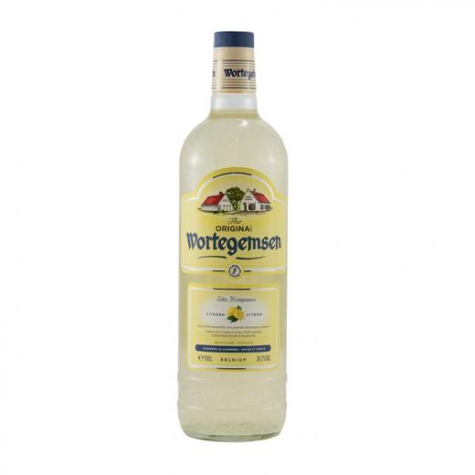 Wortegemse Citroen 24.2%  1 liter   Fles
