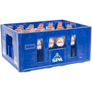 Spa water  Bruis  25 cl  Bak 28 st