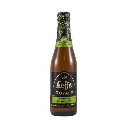 Leffe Royale Cascade IPA  Blond  33 cl   Fles