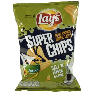 Lays Chips  Salt'n Pepper   Stuk  40 g