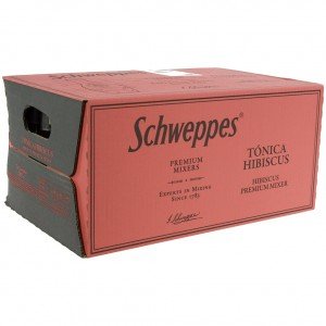 Schweppes Prem. Tonic  Hibiscus  20 cl  Doos 24 st