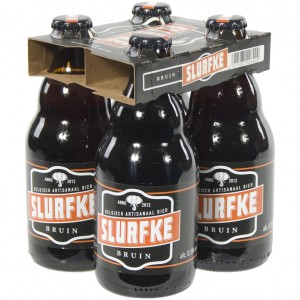 Slurfke  Bruin  33 cl  Clip 4 fl