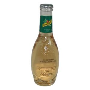 Schweppes Prem. Tonic  Ginger Ale  20 cl   Fles