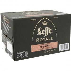 Leffe Royale Mapuche  Blond  33 cl  Doos 24 st