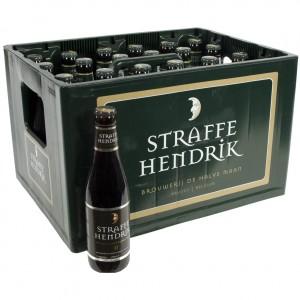 Straffe Hendrik Quadrupel  Bruin  33 cl  Bak 24 st