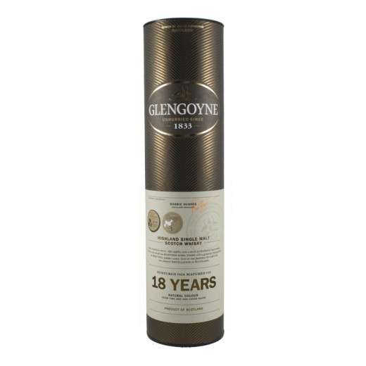 Glengoyne 18 Years old Whisky 43%  70 cl