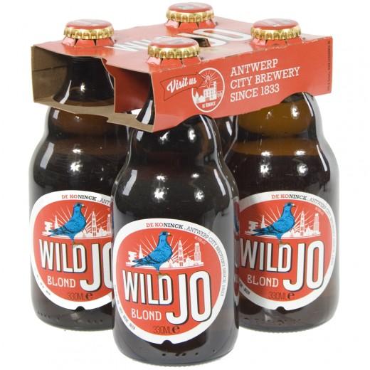 Wild Jo  Blond  33 cl  Clip 4 fl