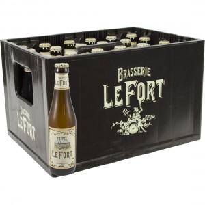 Brasserie Lefort  Tripel  33 cl  Bak 24 st