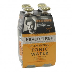 Fever Tree  Sergio Herman Clementine  20 cl  Clip 4 fl