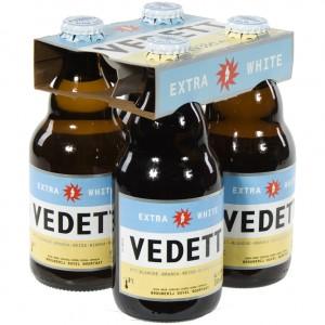 Vedett  White  33 cl  Clip 4 fl