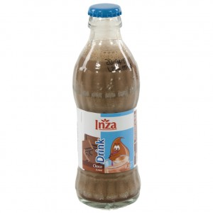 Inza Chocomelk  Magere  20 cl   Fles