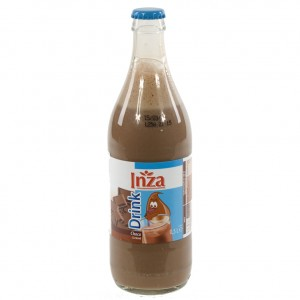 Inza Chocomelk  Magere  50 cl   Fles